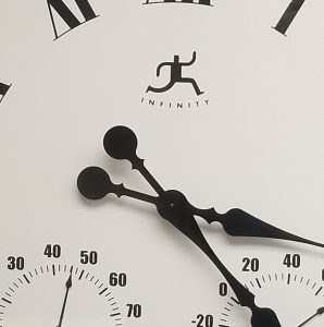 Photo of the hands of a clock