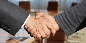 A handshake closing the deal